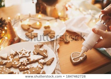 Preparation for Christmas Holidays, Winter Season Stock photo © robuart