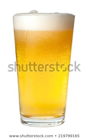 Pilsner Beer Pint Stock photo © albund