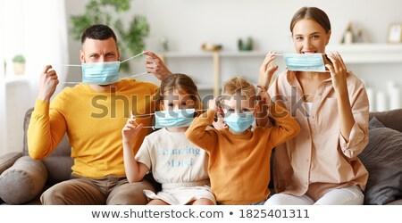 portrait of happy siblings stock photo © nyul