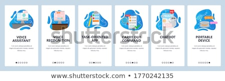 Artificial Intelligence Vector Onboarding Stock photo © pikepicture