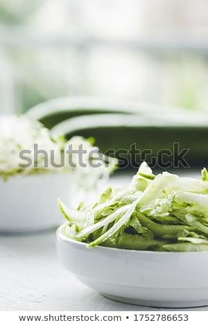 grated zucchini Stock photo © tycoon