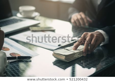 Money bribe Stock photo © nomadsoul1