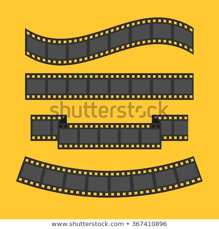 set of movie film strips in different style Stock photo © SArts