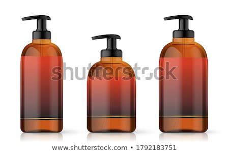 Líquido sabão higiene loção garrafa conjunto Foto stock © pikepicture