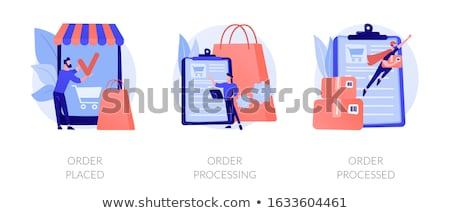Online ordering vector concept metaphor. Stock photo © RAStudio