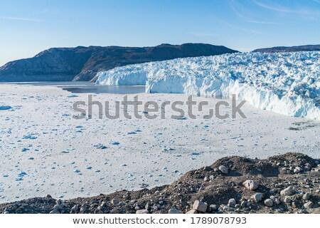 Iklim değişikliği buzul küresel isınma batı çok Stok fotoğraf © Maridav