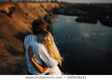 情熱的な 魅力的な ぬれた カップル 女性 ストックフォト © pressmaster