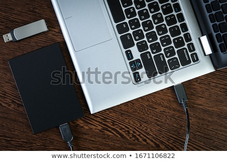 Extrnal USB Hard Disk Drive Stock photo © gewoldi