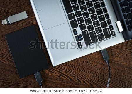 merevlemez · vezetés · fehér · számítógép · információ · adat - stock fotó © gewoldi