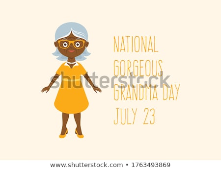 Stock photo: african granny