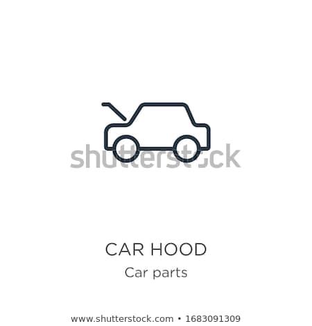 Autó gond nő hív segítség lány Stock fotó © piedmontphoto