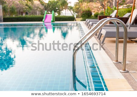 Entry to a Swimming Pool Stock photo © 2tun