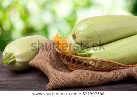 Growing marrow squash Stock photo © simply