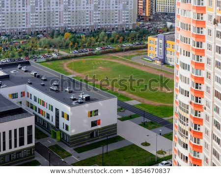 new microdistrict Stock photo © ssuaphoto