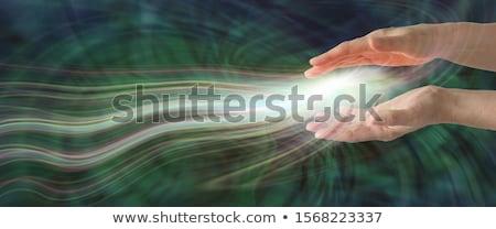 zielone · przycisk · strony · kursor · biały · działalności - zdjęcia stock © arenacreative