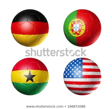 Portuguese Soccer Ball ストックフォト © Daboost