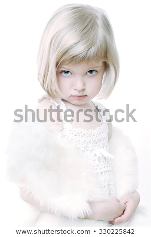 Young blonde with a mantle of Christmas Stock photo © photography33