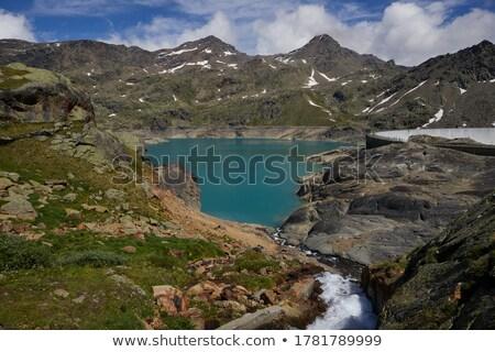 Careser lake, Trentino, Italy Stock photo © Antonio-S