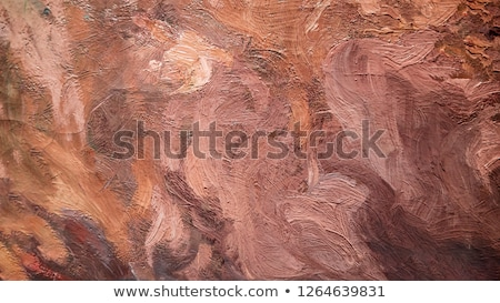 abstract brown paint structure Stock photo © prill