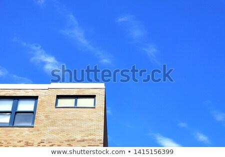Szükség tető kéz otthon háttér portré Stock fotó © photography33