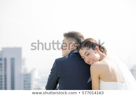 lo · sposo · attesa · sposa · bella · wedding · Coppia - foto d'archivio © szefei