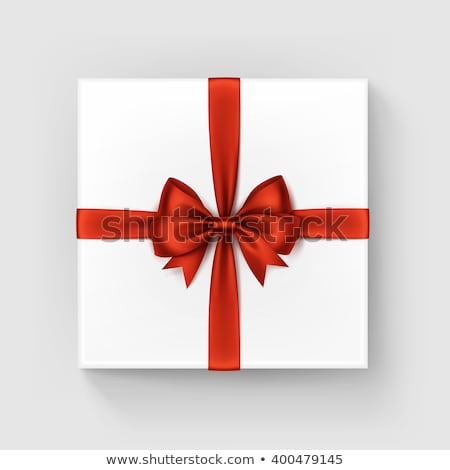 colorfull gift present with shiny ribbons isolated Stock photo © juniart