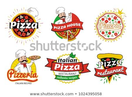 tijolo · pizza · forno · imagem · fogo · moda - foto stock © photography33