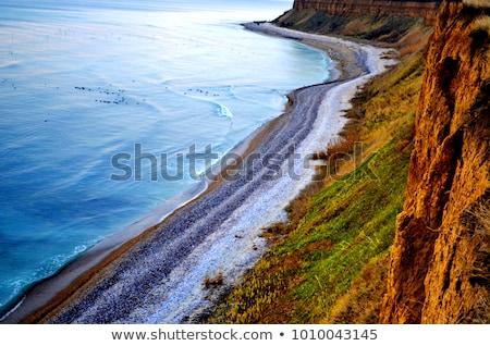 Costa preto mar quente praia Foto stock © Goruppa