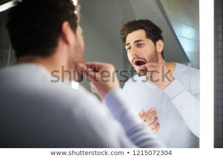 Mouth Mirror Stock photo © Pressmaster