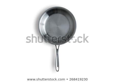cucharón · pan · aislado · blanco · 3d · fondo - foto stock © agorohov