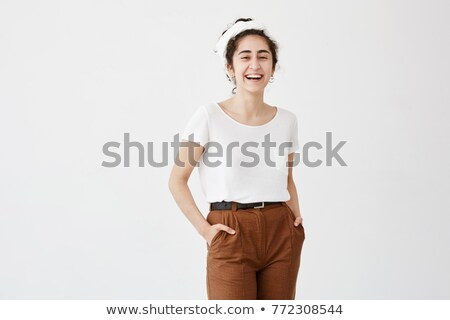 Stock photo: Woman dressed in rags