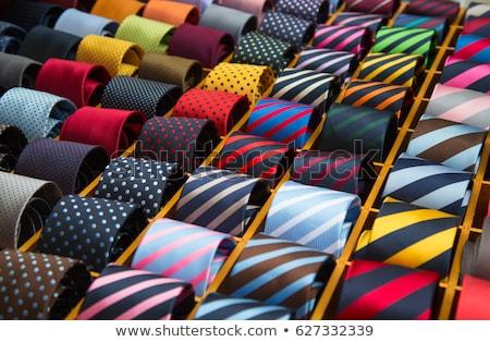 Tie wektora elegancki pin mankiet linki Zdjęcia stock © kovacevic