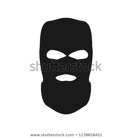 Masquerade Silhouette Stock photo © lenm
