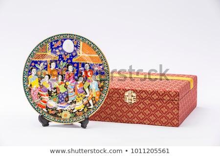 Thai stijl souvenir Thailand markt oog Stockfoto © zmkstudio