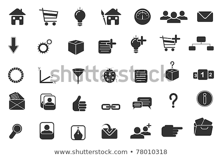 Vector Icon Box And Mouse Stockfoto © Vectomart
