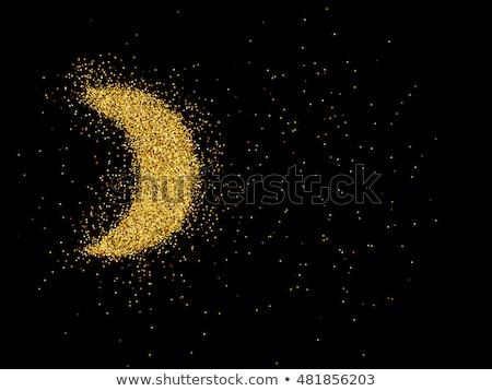 Altın eps8 stilize vektör Stok fotoğraf © beholdereye