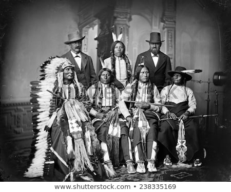 Spotted Tail native American Indian Stock photo © Snapshot