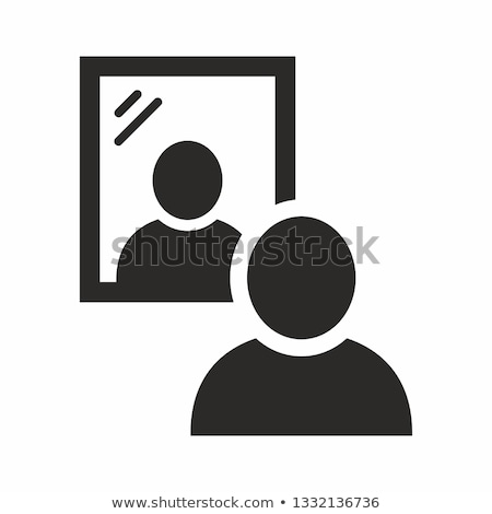 Ikon tükör Stock fotó © zzve