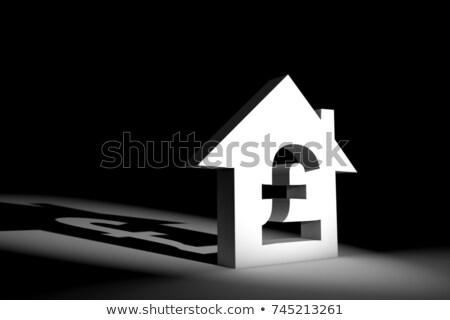 жилье фунт иллюстрация 3D оказанный Сток-фото © head-off