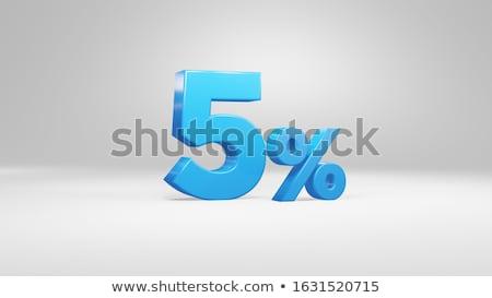 5 percent Stock photo © froxx
