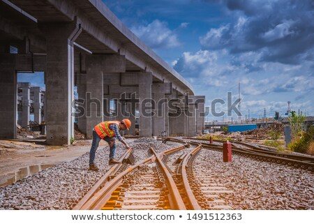 train and railway line Stock photo © mayboro1964