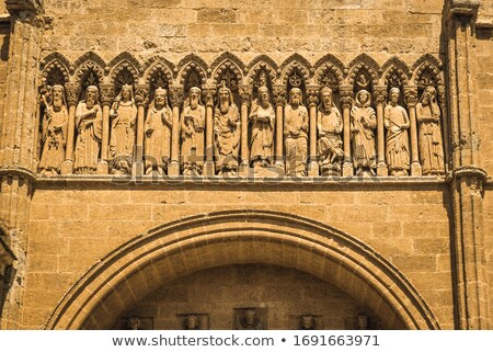 detail of gothic cathedral, Salamanca, Castile and Leon, Spain Stock photo © phbcz