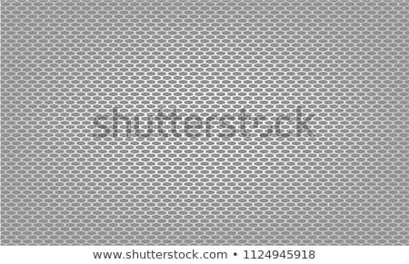 Stockfoto: Chroom · auto · grill · zwart · wit