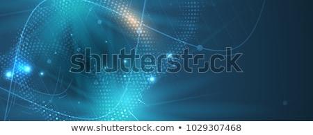 Digital illustration of DNA in abstract background Stock photo © 4designersart