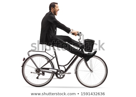 crazy businessman stock photo © smithore