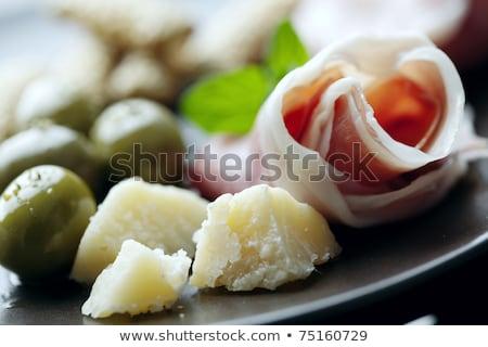 Antipasti voorgerechten voedsel wijn restaurant diner Stockfoto © brebca