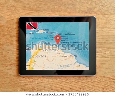 smartphone national flag of trinidad tobago    Stock photo © vepar5