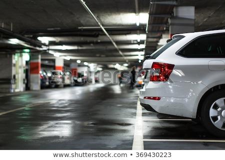 Yeraltı araba otopark ofis Stok fotoğraf © FrameAngel