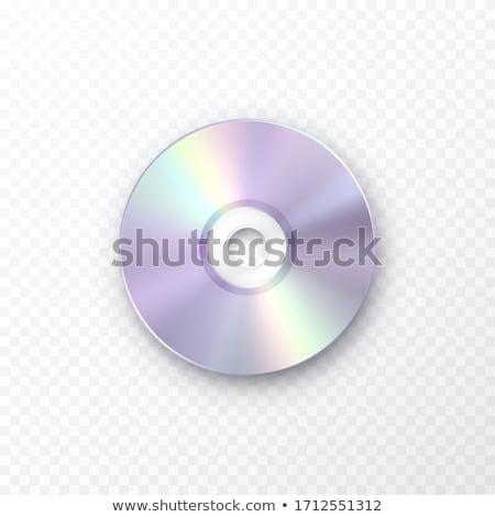 Cd 孤立した 白 コンピュータ 音楽 技術 ストックフォト © jonnysek