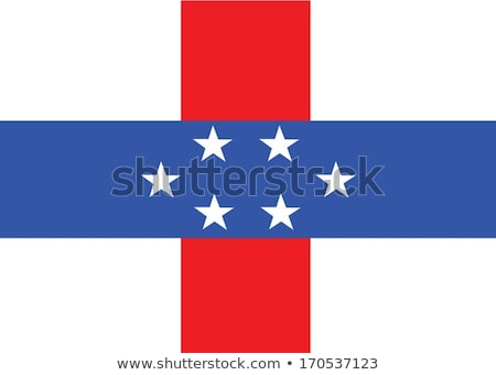 Stock photo: Netherlands Antilles flag themes idea design